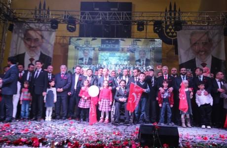 Esenler Saadet Partisi İlçe Başkanlığı, Esenler Belediye Meclis Üyesi adaylarını Hakkı Başar Spor Kompleksi'nde düzenlenen aday tanıtım programında açıkladı.